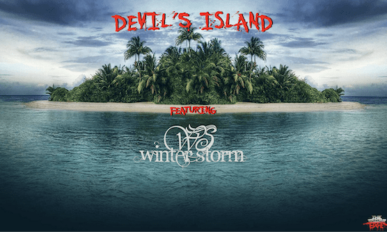 Devil's Island Featuring Winter Storm