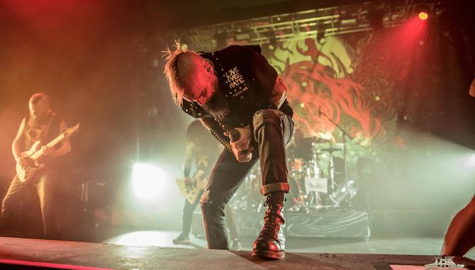 Killswitch Engage - Birmingham. Photo Credit Tim Finch Photography
