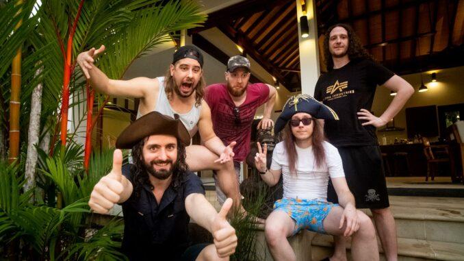 Alestorm Announce New Album 'Curse Of The Crystal Coconut'