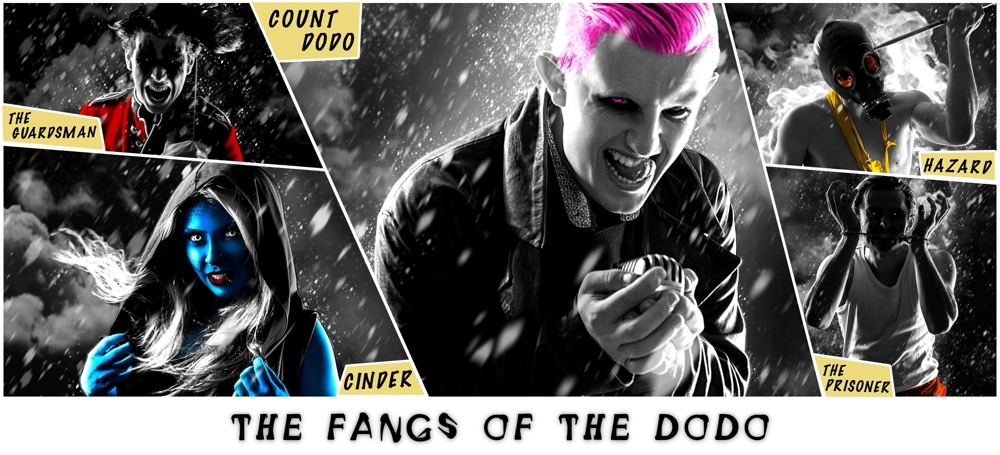Marvel-inspired Criminal Collective 'The Fangs Of The Dodo' Break Into National Treasury!