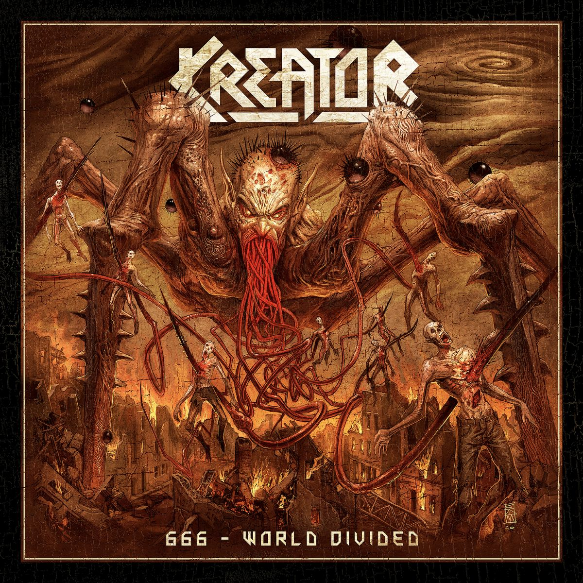 Kreator Launch Video For '666 - World Divided'