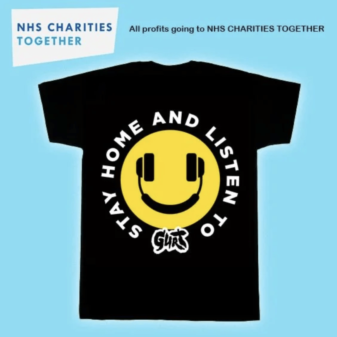 GURT Launch Chairty T-shirt For The NHS