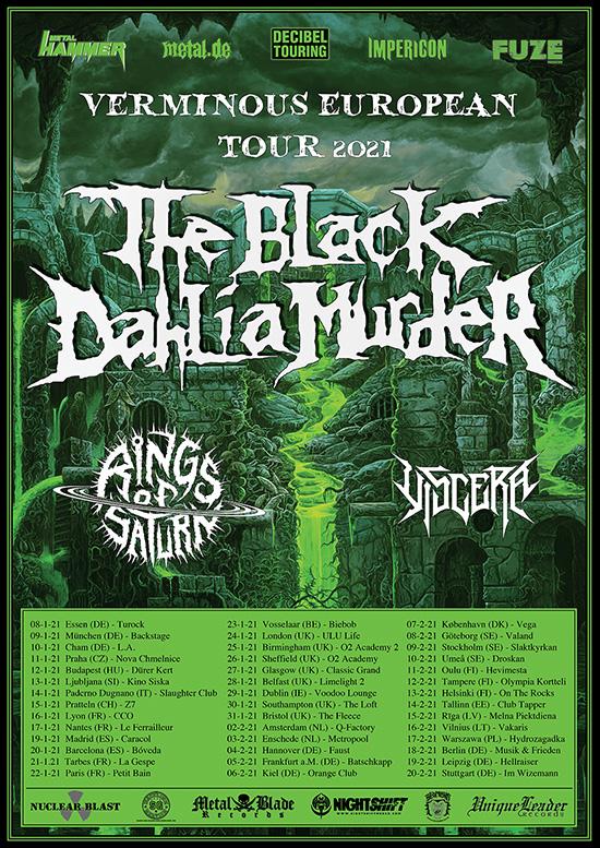 Black Dahlia Tour