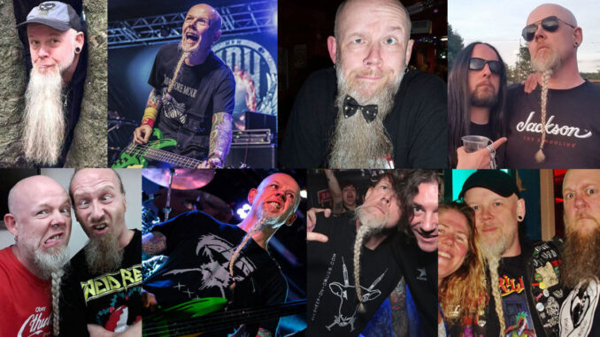 Acid Reign Bassist To Shave Beard For Charity