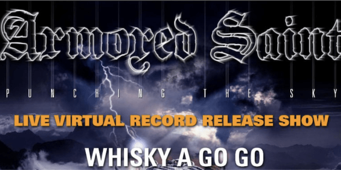 Live Review: Armored Saint - Live At The Whiskey-A-Go-Go [Stream]