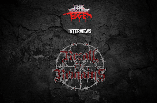 Interview: Zach of Recall The Remains